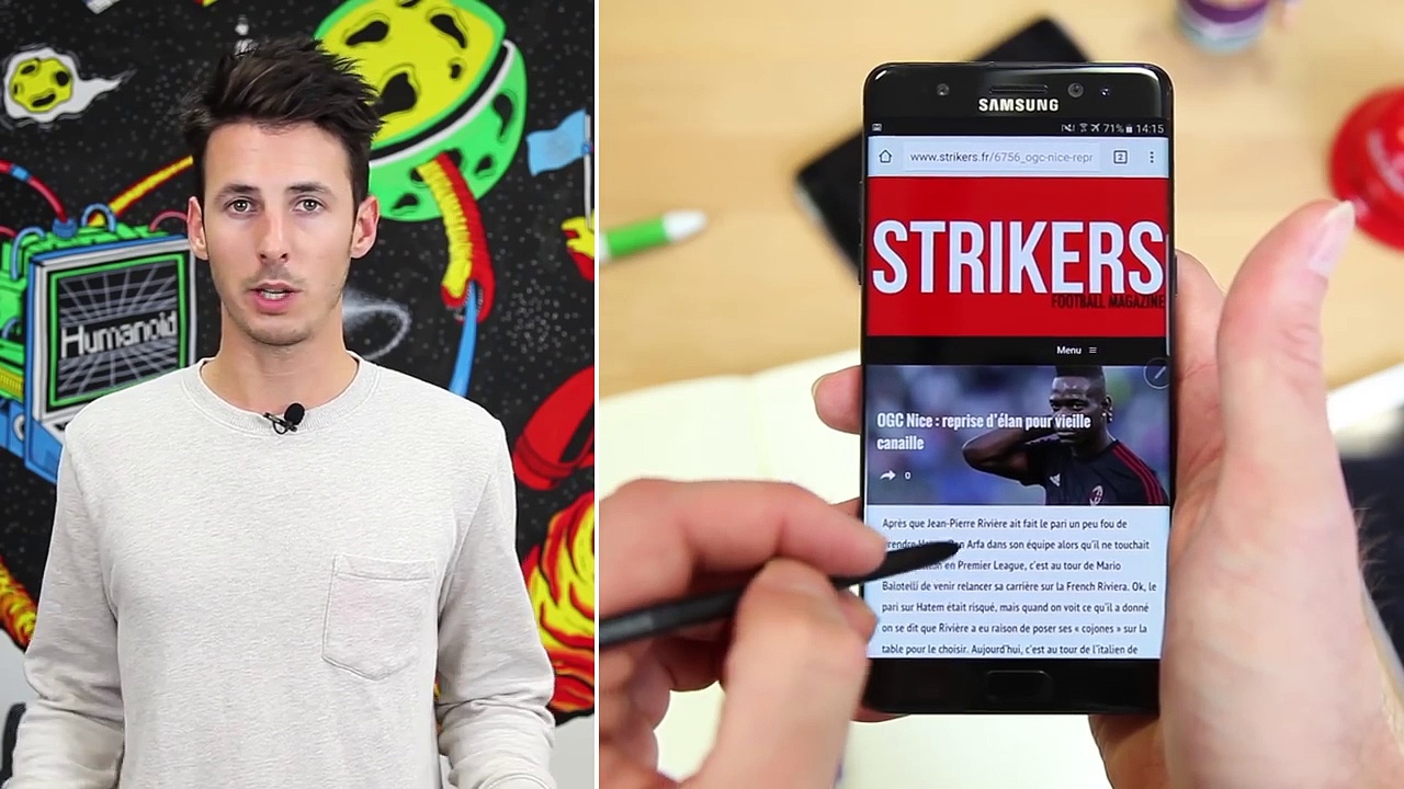 Test du Samsung Galaxy Note - le cocktail explosif