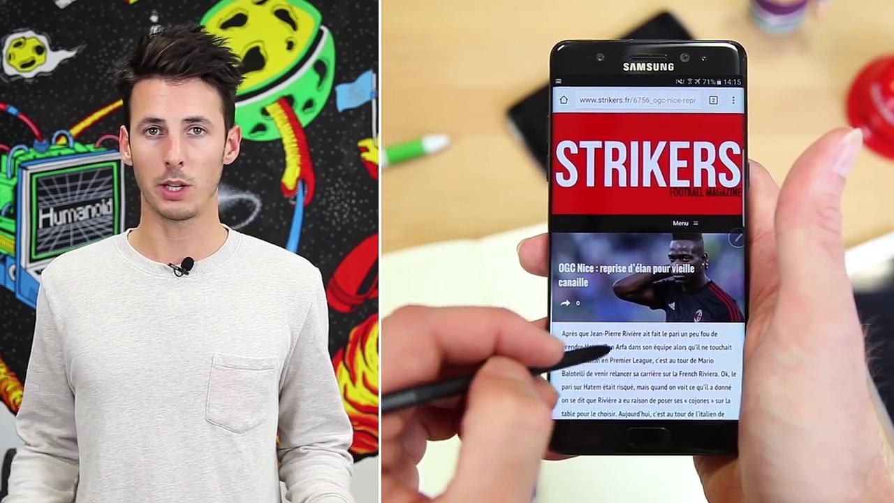 Test du Samsung Galaxy Note - le cocktail explosif