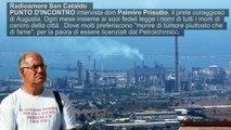Prete Coraggio contro inquinamento e tumori ad Augusta (Sicilia)
