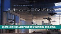 [PDF] Juha Leiviska and the Continuity of Finnish Modern Architecture (Architectural Monographs