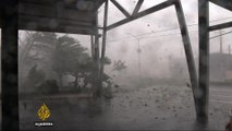 Super Typhoon Meranti leaves thousands without power in Taiwan