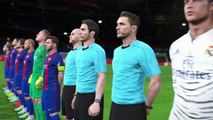 "PES 2017 | UEFA Champions League Final | Barcelona vs Real Madrid ""El Clasico"" 