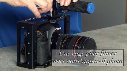 Une cage pour filmer avec votre reflex photo.