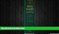 behold  Financial Management: Concepts and Applications for Health Care Organizations
