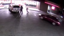 Horrifying Video Shows Driver Intentionally Plowing Into Police Officers: Cops
