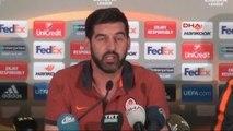 Shakhtar Donetsk Teknik Direktörü Paulo Fonseca'nın Açıklamaları