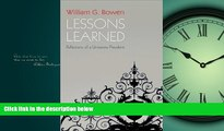 Online eBook Lessons Learned: Reflections of a University President