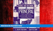 Enjoyed Read Being and Becoming a Principal: Role Conceptions for Contemporary Principals and