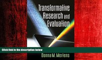 Online eBook Transformative Research and Evaluation
