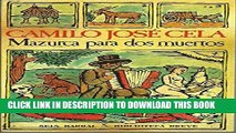 [PDF] Mazurca Para DOS Muertos (Biblioteca breve) (Spanish Edition) Full Colection