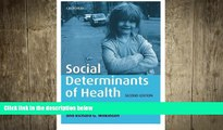different   Social Determinants of Health