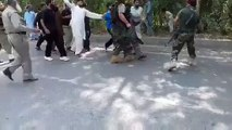 Exclusive Video of Army Officers Beating Traffic Police Officers