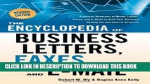 [PDF] The Encyclopedia of Business Letters, Faxes, and Emails: Features Hundreds of Model Letters,