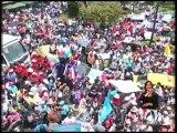 Marchas a favor y en contra del Alcalde en Quito