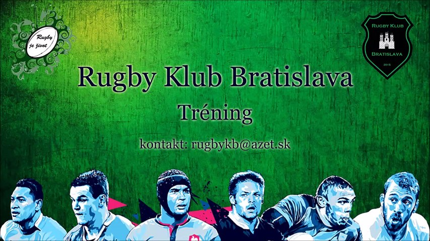 Rugby Bratislava Training Juniors Seniors 14th Sept 2016