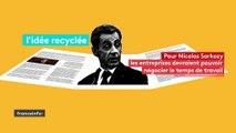 Recyclée, en vogue ou nouvelle : trois propositions de Nicolas Sarkozy