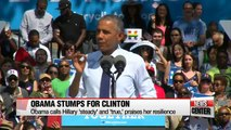 Hillary Clinton to resume campaigning as Obama stumps for Clinton