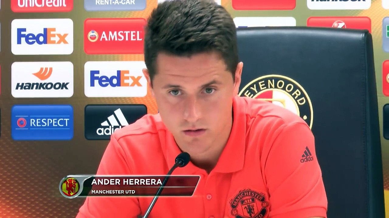 Ander Herrera Interview for Manchester United - video Dailymotion