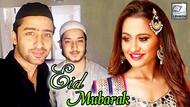 TV Celebs' EID Celebration 2016   Shaheer Sheikh   Sanjeeda Sheikh