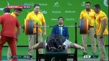 Haltérophilie : Siamand Rahman, l'homme le plus fort des Jeux Paralympiques
