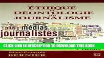 [PDF] Ethique Et Deontologie Du Journalisme Popular Online