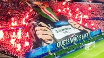 Le tifo spectaculaire du Legia Varsovie en Ligue des Champions contre Dortmund (14/09/16)