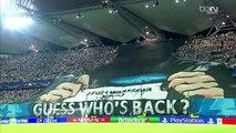 L'incroyable tifo du Legia Varsovie