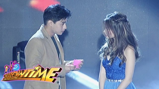 "It's Showtime: Rocksteddy, McLisse perform ""Kung Magiging Tayo"""