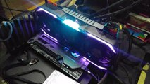 ZOTAC AMP Extreme Spectra Lighting Demo