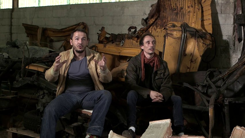 Florian Pugnaire et David Raffini | Paroles d'artistes