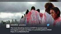 Toronto : malaises en série lors de la projection d'un film produit par Julie Gayet