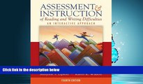 Choose Book Assessment   Instruction of Reading and Writing Difficulties: An Interactive Approach