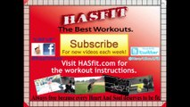 HASfit 5 Minute Standing Abs Workout - Standing Ab Exercises - Abdominal Exercise Standing Up ! !