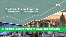 [PDF] Statistics for Business and Economics (12th Edition) Popular Colection
