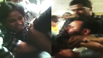 Doctors and guards clash with dengue patient's family in RML Hospital