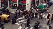Manif contre la Loi Travail : échauffourées violentes entre manifestants et force de l'ordre à Grenoble.