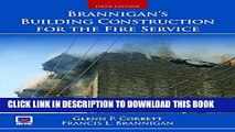 [PDF] Brannigan s Building Construction for the Fire Service Popular Online