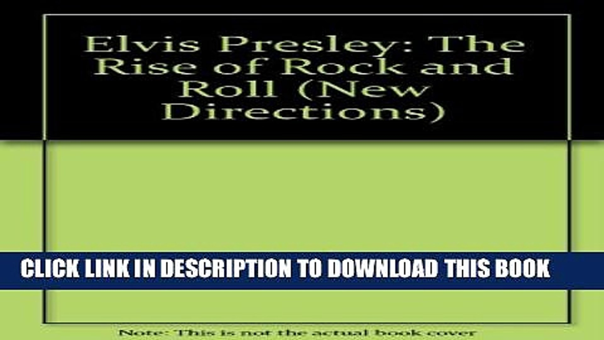 [PDF] Elvis Presley: The Rise of Rock and Roll Full Online