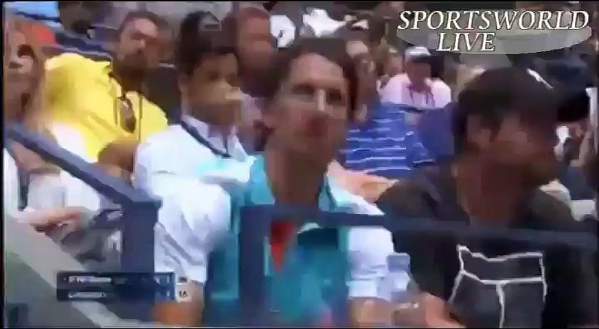 SPORTS WORLD,US OPEN TENNIS 2016 S.WILLIAM VS J.LARSSON(2)