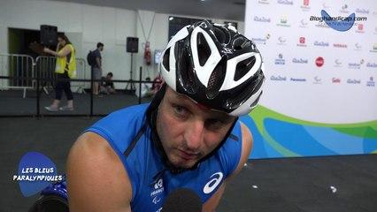 Julien Casoli - 3eme serie 800m - T54 - Jeux Paralympiques Rio 2016