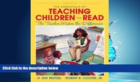 Popular Book The Essentials of Teaching Children to Read: The Teacher Makes the Difference (3rd