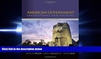 there is  American Government: Institutions and Policies, Brief Version