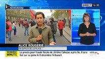 Loi Travail A Paris, au moins un manifestant et cinq policiers blessés, dont un CRS brûlé à la jambe_512x384