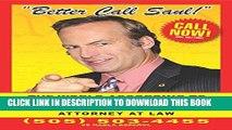 [PDF] Better Call Saul: The World According to Saul Goodman Full Online