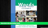 different   Words Their Way for PreK-K (Words Their Way Series)