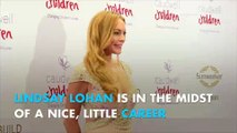 Lindsey Lohan is going to celebrity cooking school with Jamie Oliver