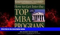 Big Deals  How to Get Into the Top MBA Programs  Best Seller Books Most Wanted