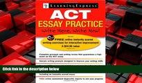 Big Deals  ACT Essay Practice  Best Seller Books Best Seller