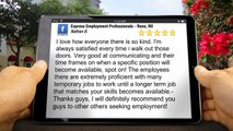 Express Employment Professionals - Reno, NV  Great 5 Star Review by Nathan B.