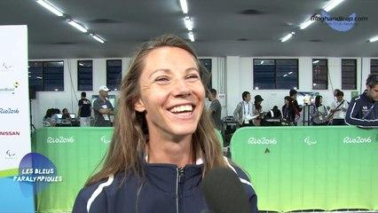 Marie-Amélie Le Fur - Médaille de Bronze 200m T44 - Jeux Paralympiques Rio 2016